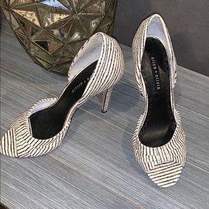 Alice + Olivia High Heel Shoes Size 39 MSRP $395